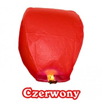Lampion szczęścia czerwony owalny 38*58*103 cm