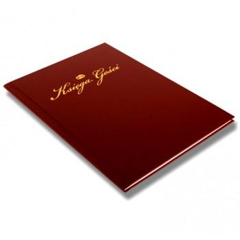 Księga gości bordowa