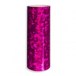 Serpentyna holograficzna / różowa