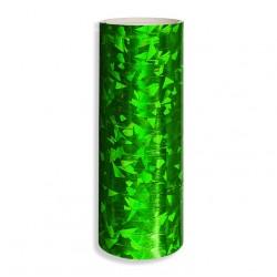 Serpentyna holograficzna / zielona