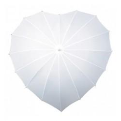 Parasol /parasolka w kształcie serca XL