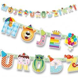 Baner Moje Urodzinki  WL 207 cm
