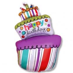 Balon tort 92 cm / foliowy