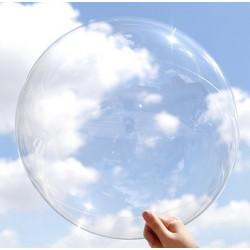 Balon gigant / super przeźroczysty 45 cm. / 50 szt.