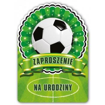 Zaproszenie na urodziny / Piłkarskie 10 szt.