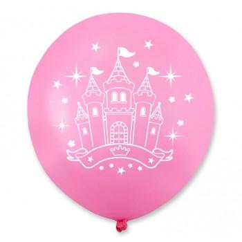 Balon zamek/Mała Księżniczka 100 szt.