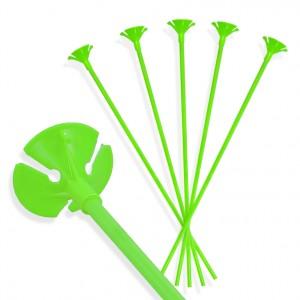 Patyczki do balonów/ j. zielone 30 cm /100 szt.