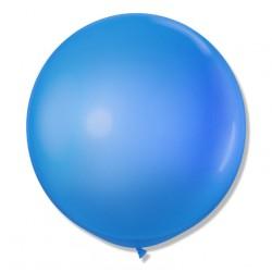 Balon Gigant 90 cm / j. niebieski 25 szt.
