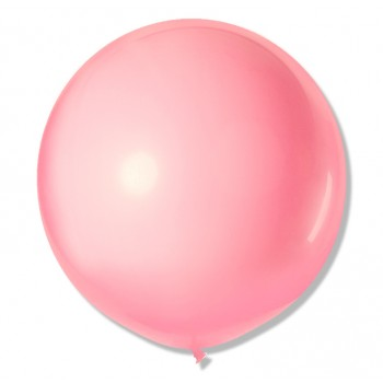 Balon Gigant 90 cm / j. różowy 25 szt.