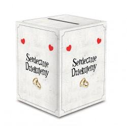 Pudełko na koperty/pieniążki z Systemem Bezpieczeństwa