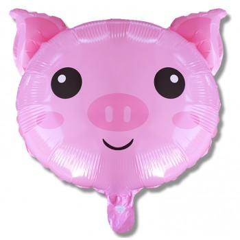 Balon świnka 39 cm / foliowy FX