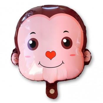 Balon małpka 38 cm / foliowy FX