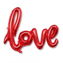 Love / napis balon foliowy 54 cm