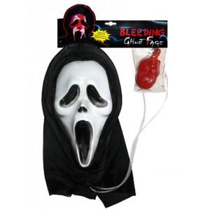 Maska Krzyk z aplikatorem krwi