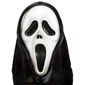 Maska Krzyk z kapturem