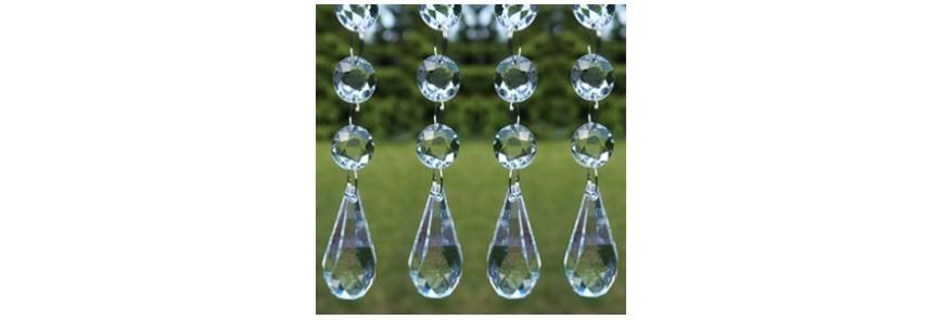 Girlandy perłowe i kryształowe