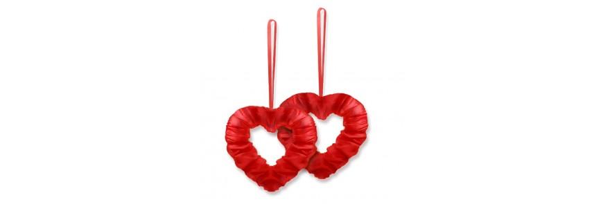 Stroiki | sztuczne kwiaty | serca