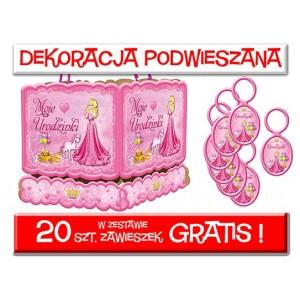 Dekoracja podwieszana urodzinki + zawieszki