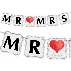 Baner MR MRS / serduszko
