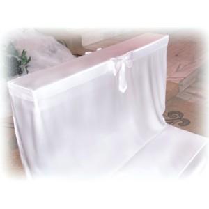 Pokrowiec na klęcznik biały