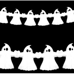 Girlanda Halloween / duszki 3 m