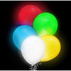 """Balon świecący 12 """" LED zmieniający kolor / mix 5 szt."""