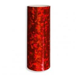 Serpentyna holograficzna / czerwona