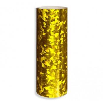 Serpentyna holograficzna / złota