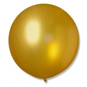 Balon Gigant 90 cm / złoty 25 szt.