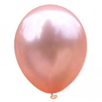 Balon metaliczny 30 cm ROSE GOLD różowe złoto / mocny/100szt.