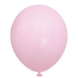 Balon pastelowy macaroon 30 cm  j. różowy /100 szt.