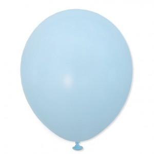 Balon pastelowy macaroon 30 cm  j. niebieski /100 szt.