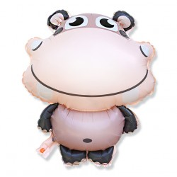 Balon hipopotam / foliowy
