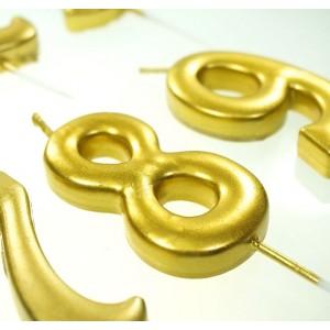 Słomki papierowe jednorazowe, metaliczne, ROSE GOLD, różowe złoto 25 szt.