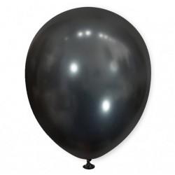 Balon chromowany 30 cm BLACK / czarny / 100 szt.