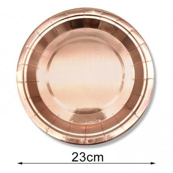 Talerzyk/talerzyki Wieczór Panieński, Rose Gold, różowe złoto