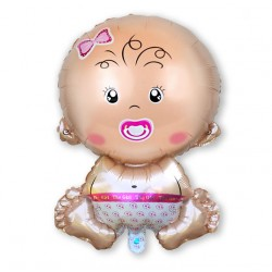 GIRL dziewczynka / bobas / balon foliowy/baby shower