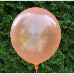 Balon krystaliczny pomarańczowy 30 cm  /100 szt.