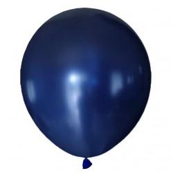 Balon metaliczny 30 cm Royal BLUE / niebieski / mocny/100 szt.