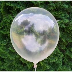 Balon krystaliczny przeźroczysty / krystaliczny 30 cm  /100 szt.